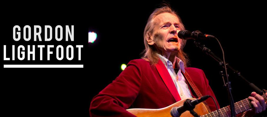 Gordon Lightfoot at FirstOntario Concert Hall