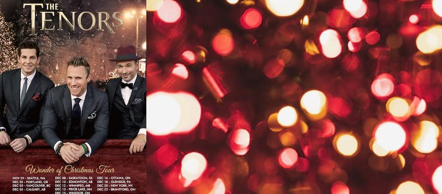 The Tenors at Sanderson Centre for the Performing Arts