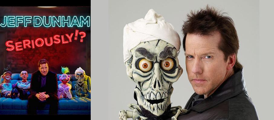 Jeff Dunham at FirstOntario Centre