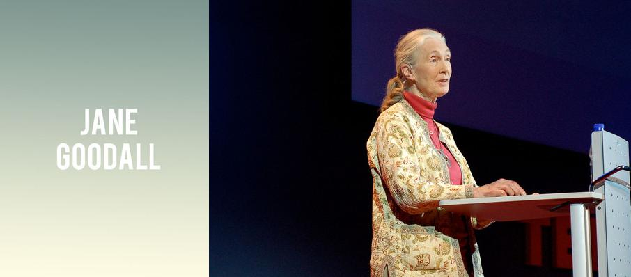 Jane Goodall at FirstOntario Concert Hall